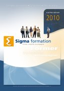 Couverture du catalogue de formation Sigma formation